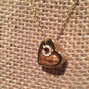 Authentic Coach heart necklace